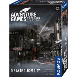KOSMOS - Adventure Games - Die Akte Gloom City
