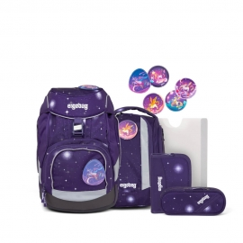 ergobag pack Schulrucksack-Set Bärgasus Glow