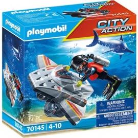 Playmobil® 70145 - Seenot - Tauchscooter im Rettungseinsatz