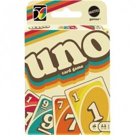 Mattel - Mattel Games UNO Iconic 70s Premium Jubiläumsedition