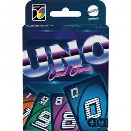 Mattel - Mattel Games UNO Iconic 80s Premium Jubiläumsedition