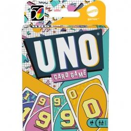 Mattel - Mattel Games UNO Iconic 90s Premium Jubiläumsedition
