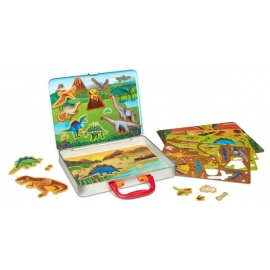 ThinkingKits Illustration Magnet- Dinosaurs