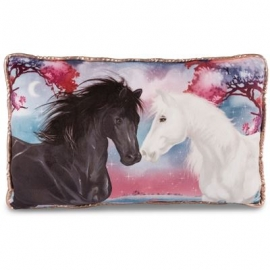 NICI - Mystery Hearts - Kissen Pferd Winnie rechteckig 43x25cm