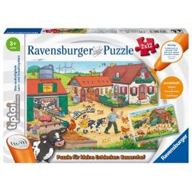 Ravensburger 00066 tiptoi Puzzle für kleine Entdecker: Bauernhof Puzzl