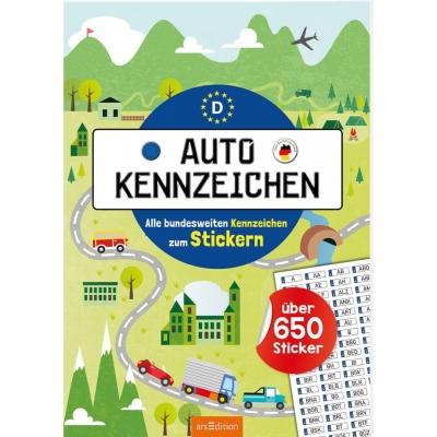 Autokennzeichen - Alle bundesweiten Kennzeichen zum Stickern
