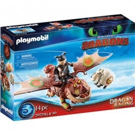 Playmobil® 70729 - Dragon Racing - Fischbein und Fleischklops