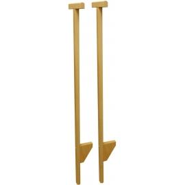 Outdoor active Stelzen Holz mit Stütze, Länge 120 cm