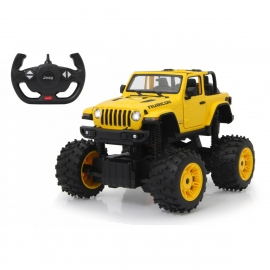 Jamara - Jeep Wrangler JL - Big Wheel 2,4 GHz  A 1:14 gelb