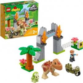LEGO® DUPLO® 10939 - Ausbruch des T. rex und Triceratops