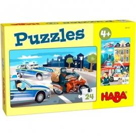 HABA® - Puzzles Im Einsatz, 24 Teile