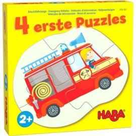 HABA® - 4 erste Puzzles - Einsatzfahrzeuge