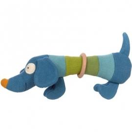 sigikid - Babytoys - Strick-Greifling Hund
