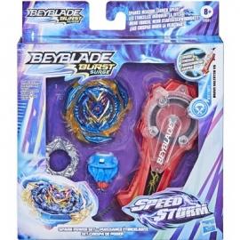 Hasbro - Beyblade Burst Rise Speedstorm Spark Power Starter