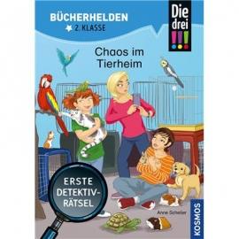 KOSMOS - Bücherhelden 2. Klasse - Drei!!! - Chaos im Tierheim