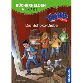 KOSMOS - Bücherhelden 1. Klasse - TKKG Junior - Die Schoko-Diebe