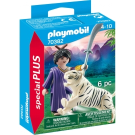 Playmobil® 70382 Asiakämpferin mit Tiger
