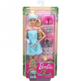 Mattel - Barbie Wellness Spa Puppe und Spielset