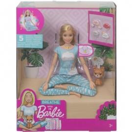 Mattel - Barbie Wellness Meditations Puppe blond und Spielset