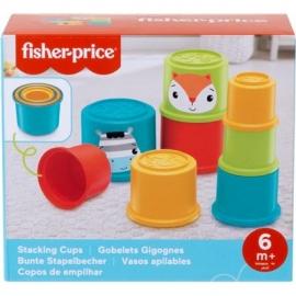 Mattel - Fisher-Price Bunte Stapelbecher