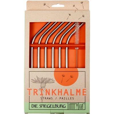 Die Spiegelburg - Trinkhalme aus Edelstahl - einfach leben