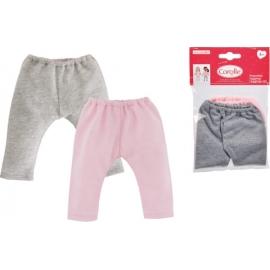 Corolle MC 2 Leggins, grau + pink