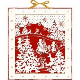 Coppenrath Verlag - Weihnachtlicher Scherenschnitt, Adventskalender
