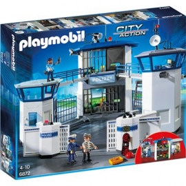PLAYMOBIL® 6872 - City Action - Polizei-Kommandozentrale mit Gefängnis