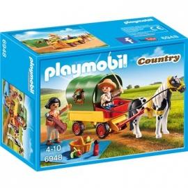 PLAYMOBIL® 6948 - Country - Ausflug mit Ponywagen